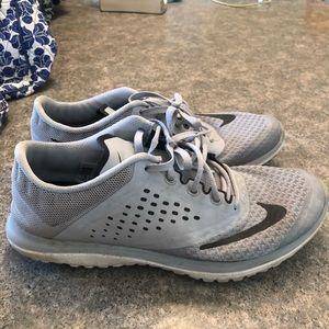 Gray Nikes